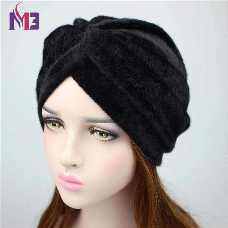 [해외]2018 봄 새 럭셔리 여성 모피 터번 여성 및 이슬람 터번 여성용 헤어 액세서리 터번 머리띠 모자를 쓰고 있죠 터번 터 모자/2018 Spring New Luxury Women Fur Turban Women&s Muslim Turban Ladies Hair A