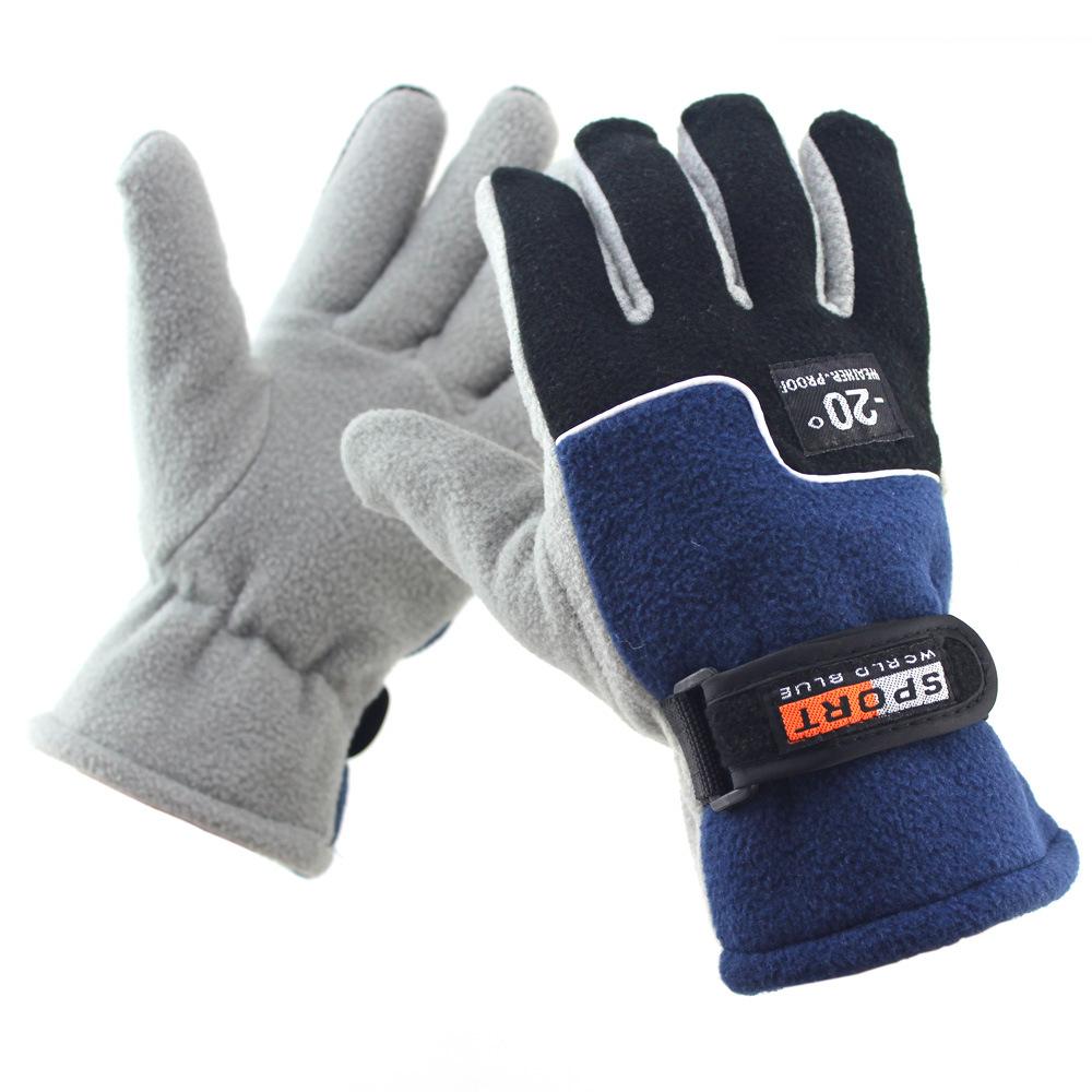 [해외]새로운 남자 야외 양털 장갑 겨울 windproof 따뜻한 승마 두꺼운 장갑/new men  outdoor fleece gloves  winter windproof warm riding thick gloves