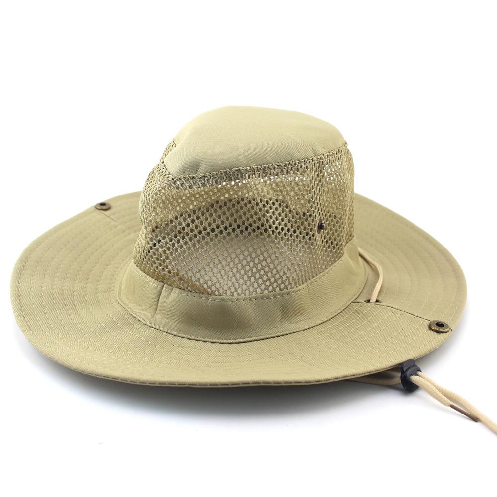 [해외]새로운 여자 남자 옥외 하이킹 어업 모자 어부 모자 접히는 정글 모자 환기 한 길쌈 된 면직 태양 보호 모자 60CM/New Women Men  Outdoor Hiking Fishing Cap  Fisherman Hat  Folding Jungle Hat Ven