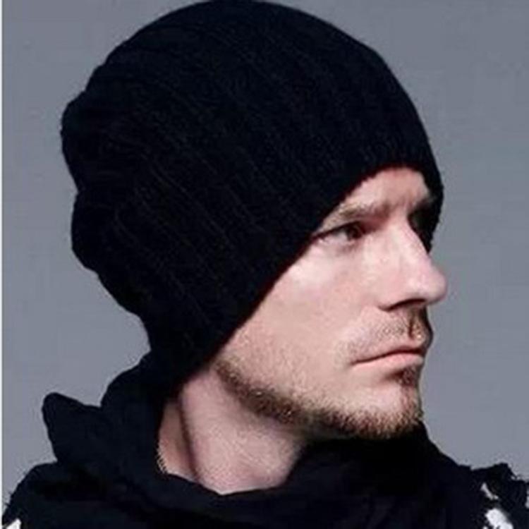 [해외]New s 니트 모자 패션 맨 여성 가을 ??겨울 따뜻한 모자 클래식 퓨어 컬러 조절 가능한 블랙 화이트/New s Knitted Cap Fashion Man Women Autumn Winter Warm Hat Classic Pure Color Adjustabl