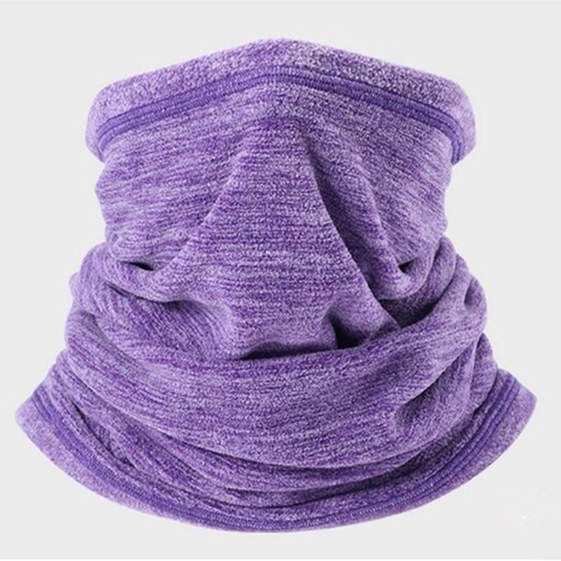 [해외]남성 여성 양모 양모 목관 온난 다기능 겨울 반지 스카프 및 따뜻한 얼굴 마스크 모자 머리띠 스노우 보드 야외 라이더/Men Women Fleece Wool Neck Tube Warmer Multifunction Winter Ring Scarf And Warm