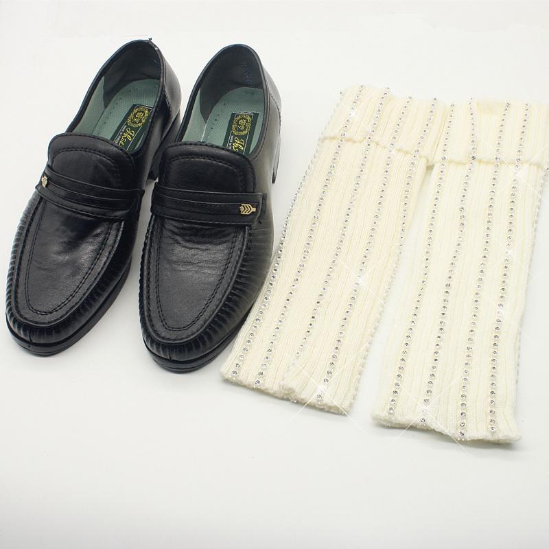 [해외]희귀 패션 크리스탈 엠제이 마이클 잭슨 빌리 진 Baggy 발목 양말 수공 100 % 컬렉션 쇼/Rare Fashion Crystal MJ Micheal Jackson Billie Jean Baggy Ankle Socks handmade 100% For Coll