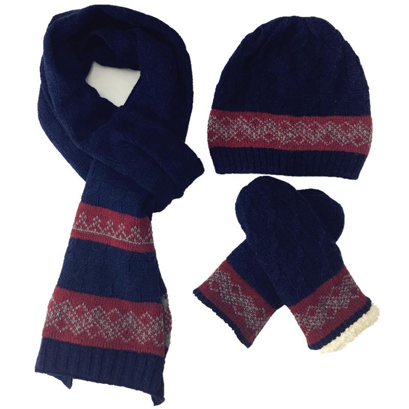 [해외]2017 New Arrival Wool 남성 & 스카프 장갑 3 피스 따뜻한 가을 겨울 남성 니트 스카프, 모자 & 스카프 장갑 세트/2017 New Arrival Wool Men&s Hats Scarves Gloves three-piece War
