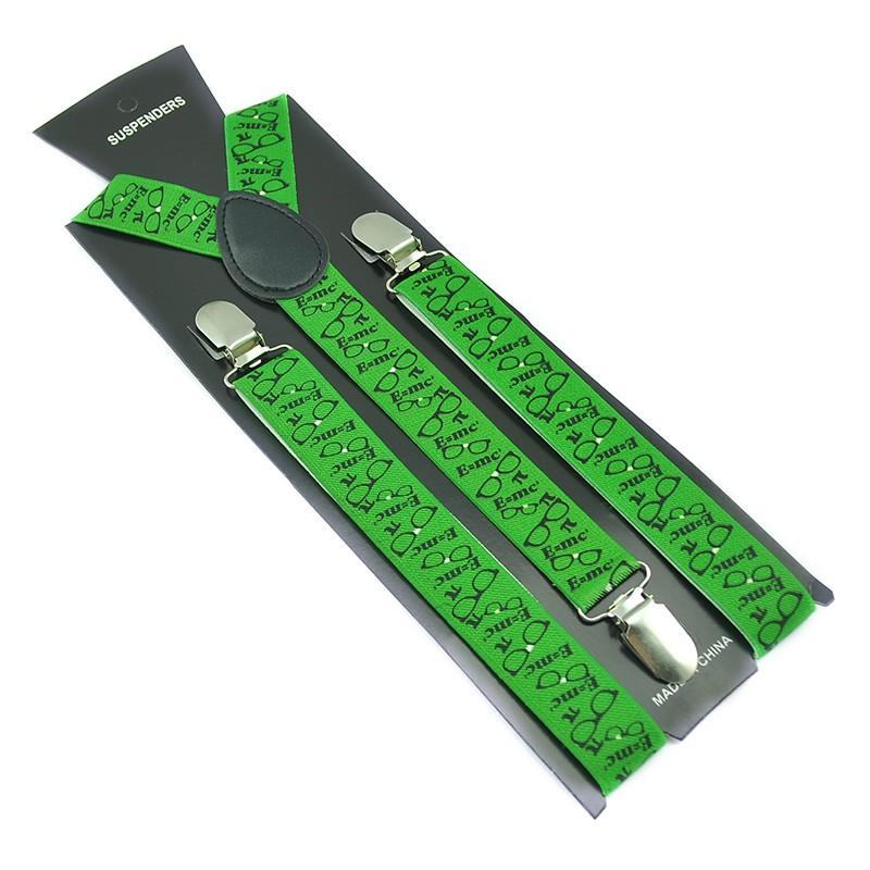 [해외]성격 서스펜더 눈 안경 녹색 서스펜더 품질 클립에 교정기 탄성 교정기 서스펜더 Y- 다시 멜빵/New Arrival Personality Suspender Eye Glasses Green Suspender quality Clip-on Braces Elastic