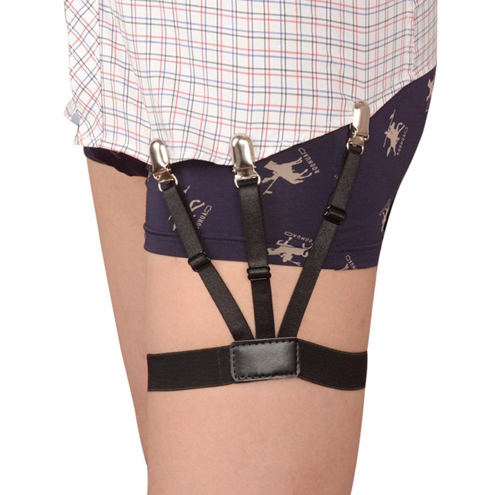 [해외]Mens Shirt Stays Garters 셔츠 용 서스펜더 브레이슬릿 신사용 다리 신축성있는 남성 셔츠 서스펜더 가터 홀더 사업/Mens Shirt Stays Garters Suspenders Braces For Shirts Gentleman Leg Elas