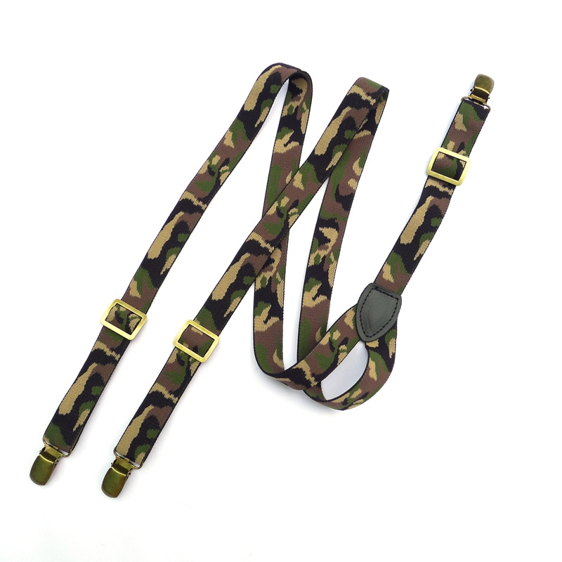 [해외]위장 suspender 3 클립 패션 suspender/camouflage suspender 3 clips fashion suspender