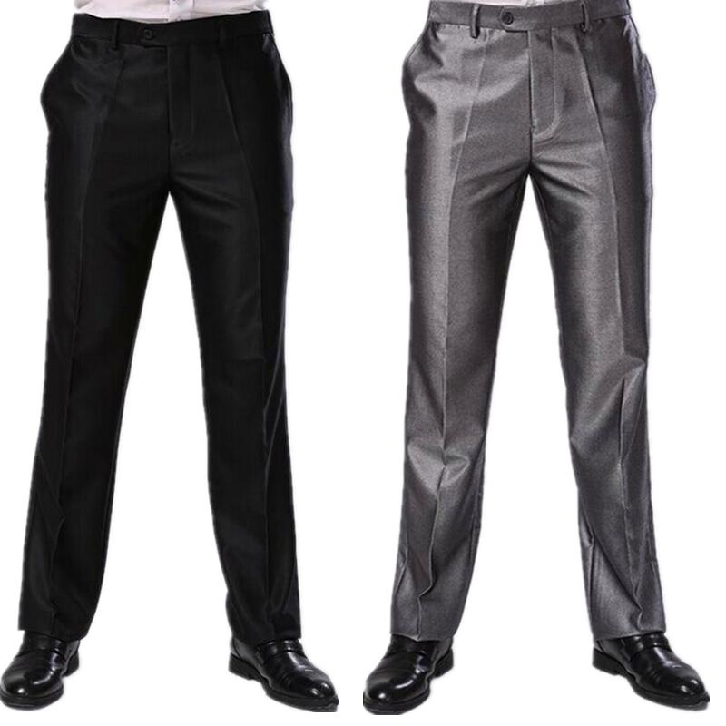 [해외]남자 바지 두 가지 색상 정장 비즈니스 드레스 바지 큰 크기 슬림 맞는 브랜드 디자인 긴 스키니 바지 CBJ-F1317/Men Trousers Two Colors Formal Business Dress Pants Big Sizes Slim Fit Brand De