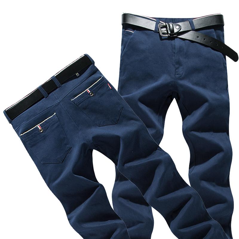 [해외]2018 새로운 봄가 바지 남성 슬림 맞는 비즈니스 패션 카고 바지 남자 캐주얼 망 바지 28-38 크기/2018 new spring autumn pants male slim fit business fashion cargo pants men casual mens