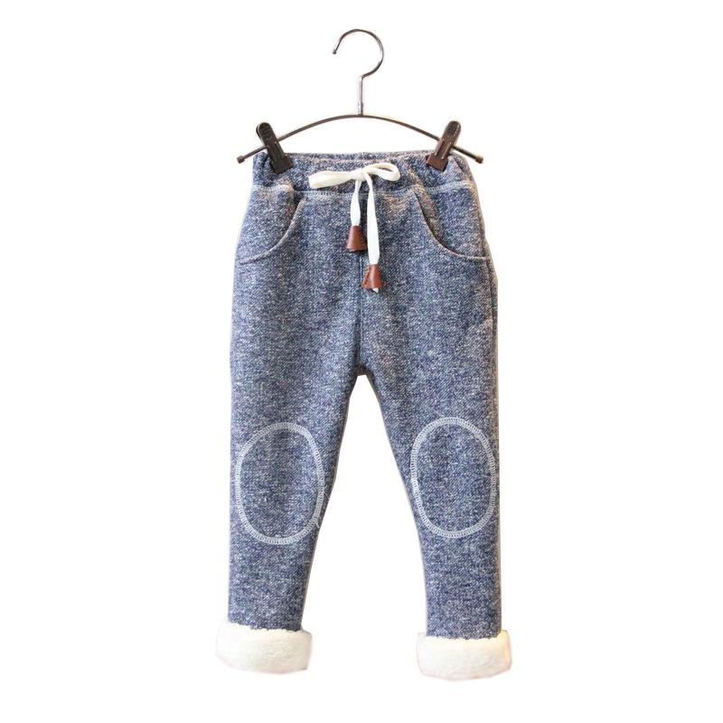[해외]Bibicola 겨울 소년 소녀 바지 캐주얼 탄성 단단한 바지 아이 스포츠 의류 bebe 두꺼운 레깅스 아기 따뜻한 크리스마스 바지/Bibicola winter boys girl pants casual elastic solid pants kids sport cl