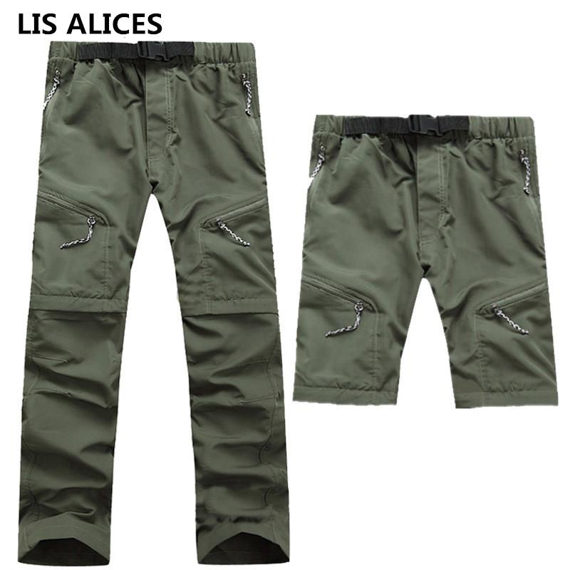 [해외]LIS ALICES LIS ALICES 새 도착 2018 봄 여름 남성 군대 긴 바지 캠프 빠른 건조 긴 여행 이동식 바지/LIS ALICES LIS ALICES New Arrival 2018 Spring Summer Men Army Long Pants Camp