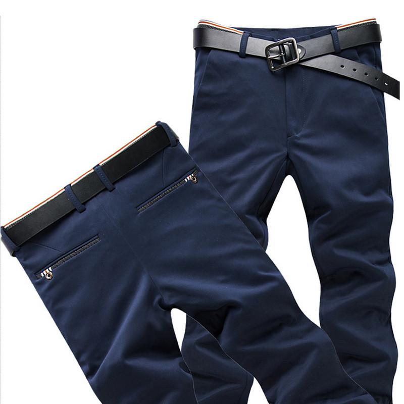 [해외]?2018 가을 남성 & 신축성 캐주얼 바지 남성 비즈니스 드레스 슬림 피트 조깅 스트레치 롱 바지/ 2018 In the fall Men&s Elastic Casual Pants Mens Business Dress Slim Fit Jogger Stret