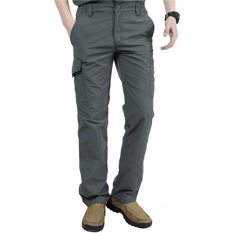 [해외]남자 & s 밀리터리 바지 여름 빠른 건조 트랙화물 바지 남성 조깅 남자 캐주얼 육군 바지 4XL 의류 ArmyGreen 배송/Man&s Military Pants Summer Quick-Drying Track Cargo Pants Male Joggers