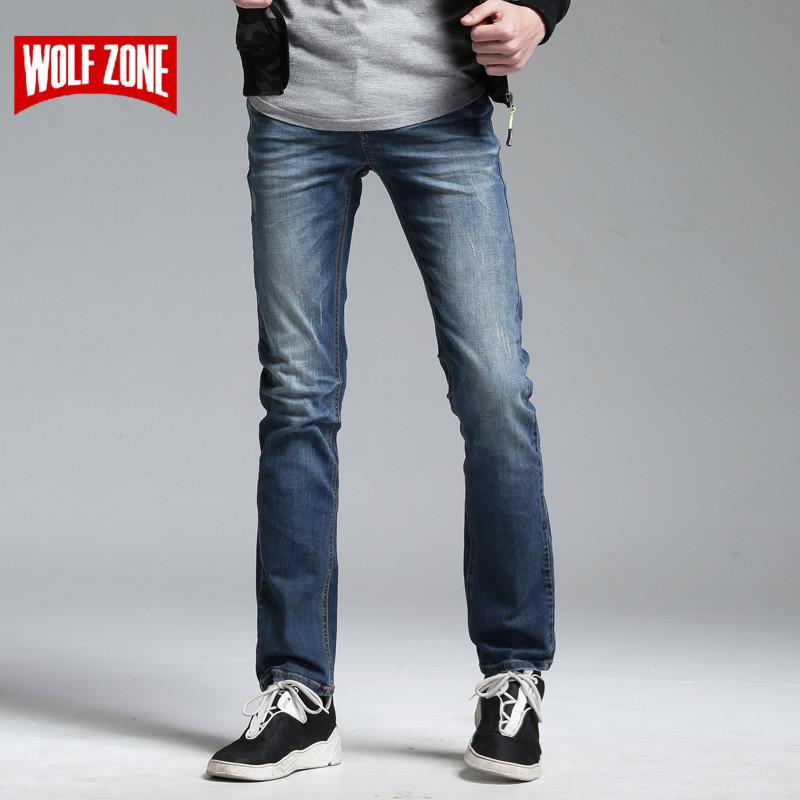 [해외]특별 제공 청바지 남성 유명 브랜드 Masculino 악세사리 바지 남성 바이커 솔리드 중반 전체 길이 면화 디자이너 여름 캐주얼/Special Offer Jeans Men Famous Brand Masculino Distressed Pants Mens Bike