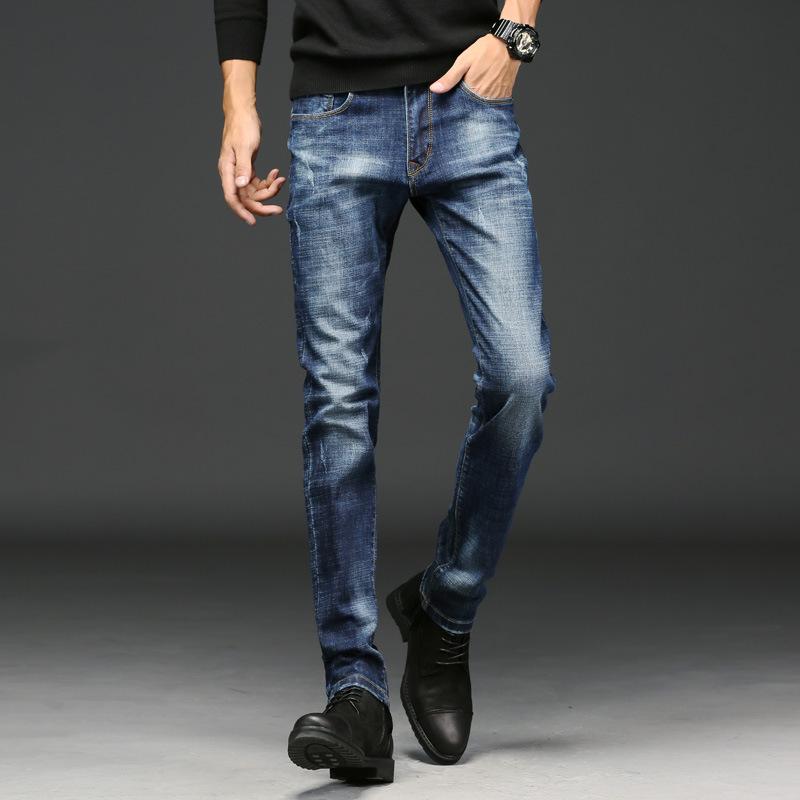[해외]2018 NEW ECTIC 신축성 청바지 남성용 슬림 팬츠. 패션 바지와 캐주얼 청바지 L01235/2018 NEW ECTIC elastic jeans men&s slim pants. Fashion trousers and casual jeans L01235