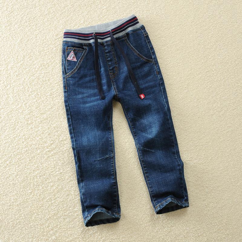 [해외]소년 바지 청바지 2018 패션 소년 청바지 봄 가을 어린이 & 데님 바지 어린이 다크 블루 디자인 바지/Boys pants jeans 2018 Fashion Boys Jeans for Spring Fall Children&s Denim Trousers