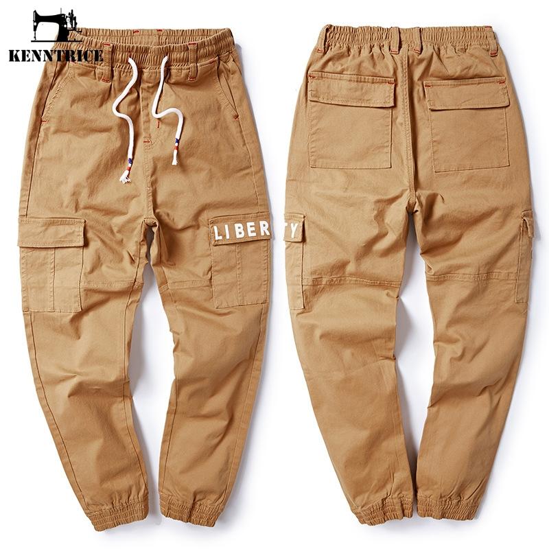 [해외]KENNTRICE 캐주얼 2018 하렘 바지 남성용 조깅 휘트니스 카고 바지 밀리터리 스타일 8XL 플러스 사이즈 의류/KENNTRICE Casual 2018 Harem Pants Mens Jogger Fitness Cargo Pants Military Styl
