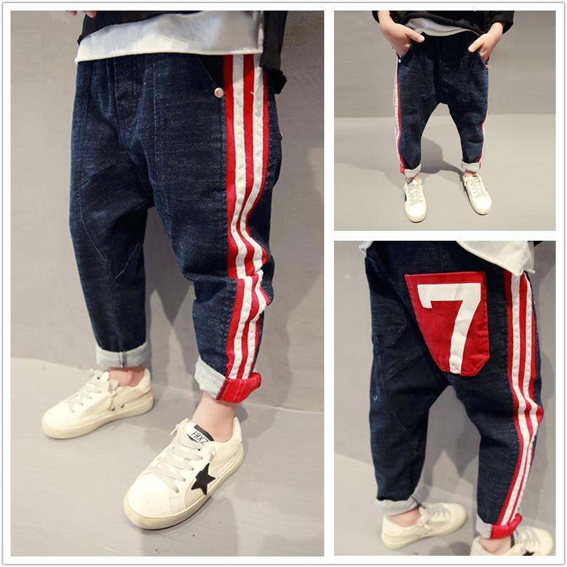 [해외]2018 봄 어린이 & 소년 소년 청바지 단색 데님 아기 소년 청바지 큰 소년 소년 인과 청바지 아이 긴 바지/2018 spring children&s  boys jeans solid denim baby boys jeans for big kids boys