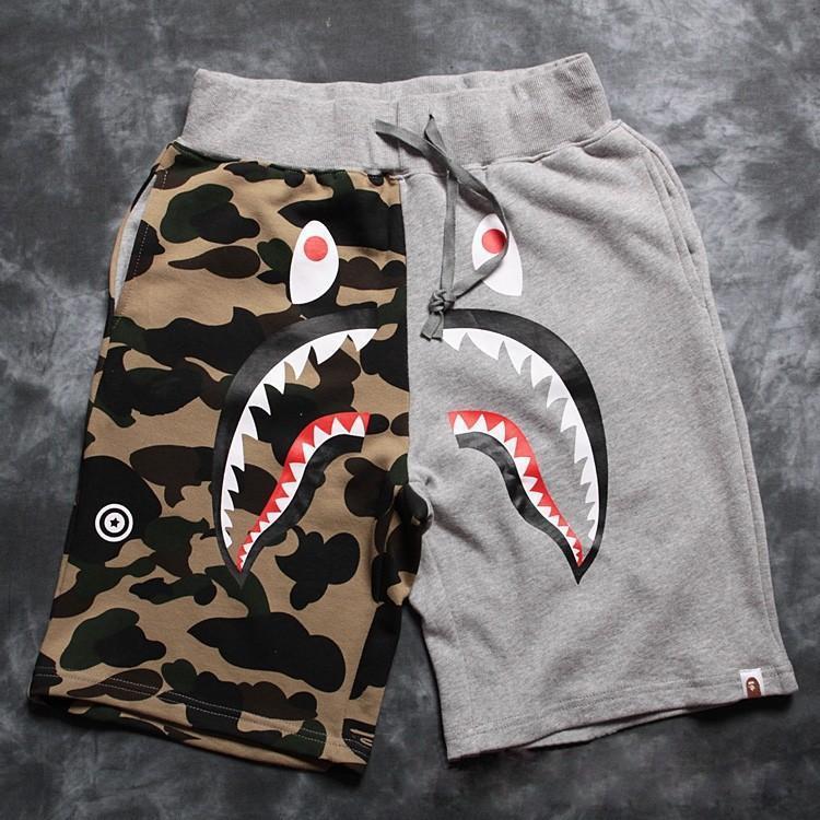 [해외]2015 새로운 Bape의 상어 위장 남성 & S 스포츠웨어 남성..