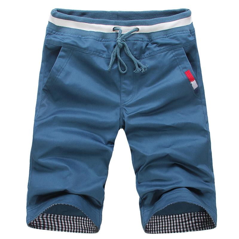 [해외]여름에 새로운 2017 순수 코 튼 괜 찮 아 요 자 수 남자 레저 해변 반바지 / 남자 & s 고품질 대조 색상 캐주얼 반바지/The new 2017 pure cotton fine embroidery men leisure beach shorts in s