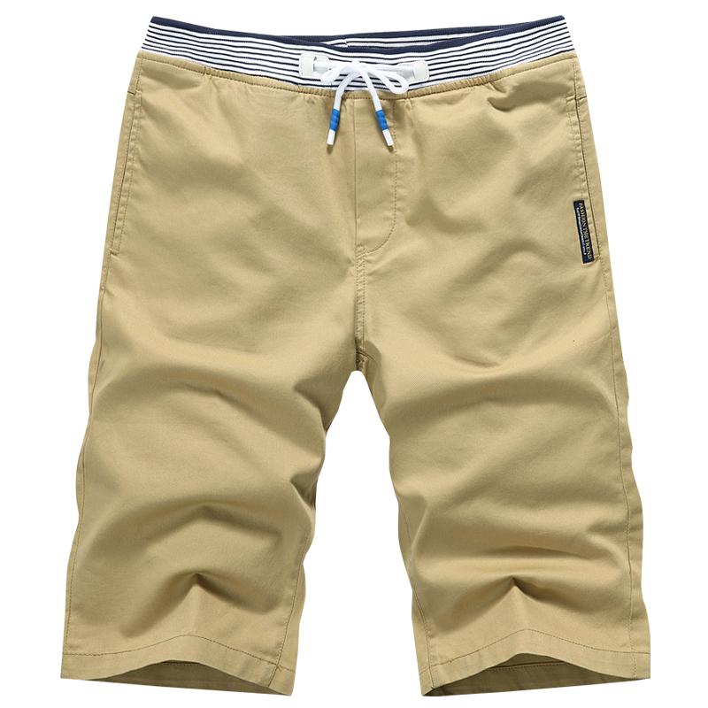 [해외]MYAZHOU 2018 여름 남성 & 캐주얼 코튼 반바지, 고품질 코튼 스웨터 열 비즈니스 반바지 플러스 SI 카키 반바지/MYAZHOU 2018 Summer Men&s Casual Cotton Shorts , High-quality Cotton Swea