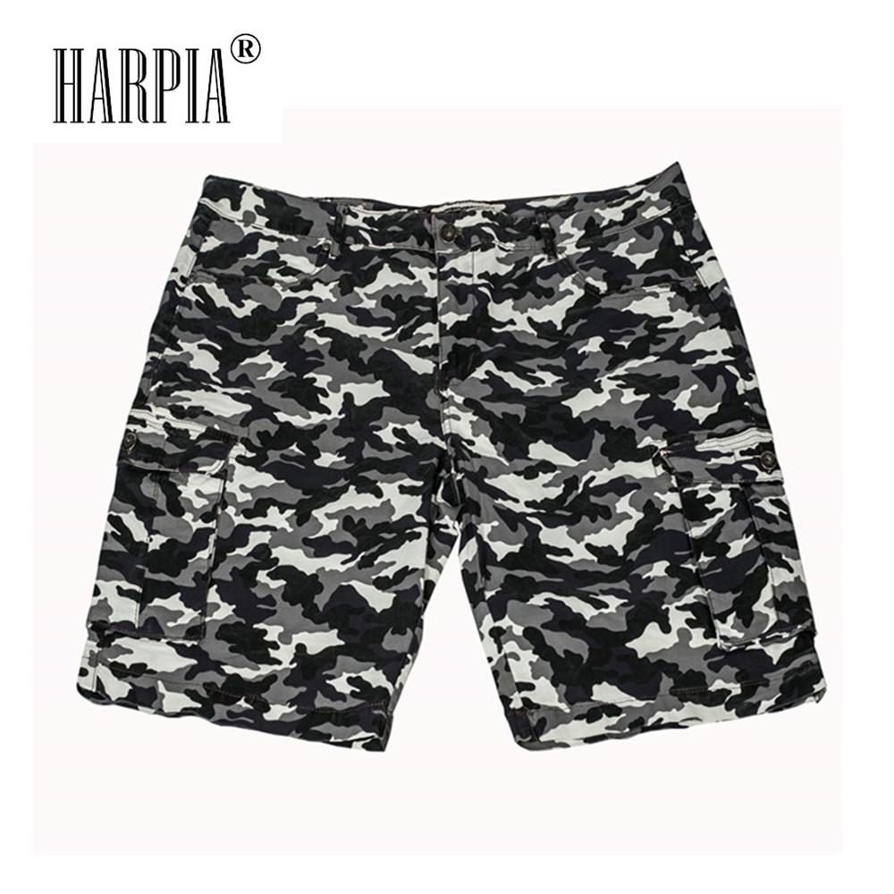 [해외]Harpia 하이 엔드 남성 & 카모 반바지 남성 버뮤다 Camuflada 반바지 남성 느슨한 캐주얼 플러스 크기의 포켓 밀리터리 큰 크기의 남성 짧은/Harpia High-end Men&s Camo Shorts Male Bermuda Camuflada