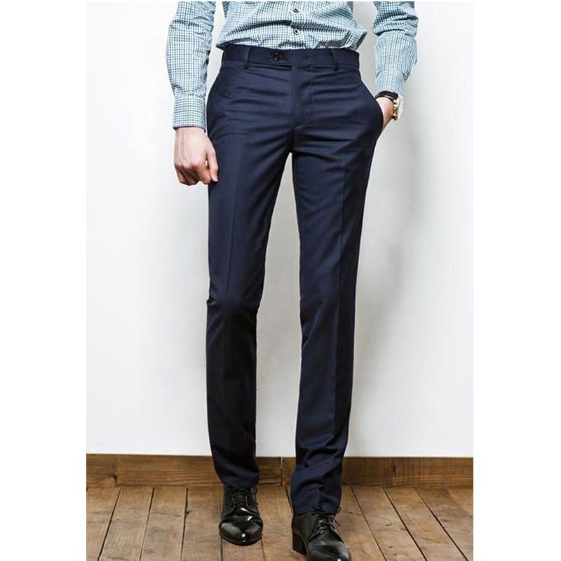 [해외]사용자 정의 만든 럭셔리 망 사업 정장 복장 캐주얼 스트레이트 정장 바지 바지 남성 정장 바지/Custom Made Luxury Mens Business Formal Dress Casual Straight Suit Slacks Trousers Pants Men