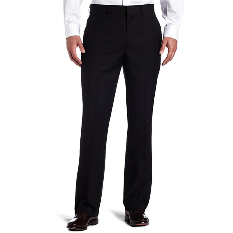 [해외]사용자 정의 남자 & 블랙 솔리드 양복 별도 바지 웨딩 정장 바지 남성 정장 바지 P507 만든/Custom Made  Men&s Black-Solid Suit Separate Pant Wedding Suit Pants  Men Suit Pants P50