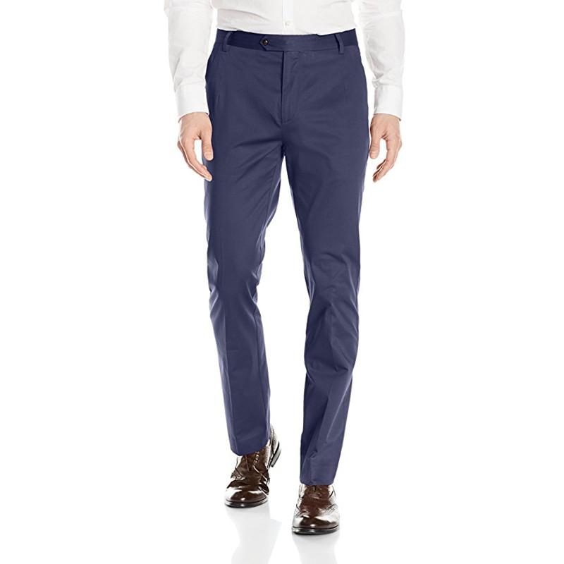 [해외]사용자 정의 만든 새 스타일 남자 정장 남자 & s 평면 전면 테이퍼 스트레치 코 튼 드레스 바지 웨딩 바지 파티 / 신랑 정장 바지/Custom Made New Style Men Suit Men&s Flat Front Tapered Stretch Cot