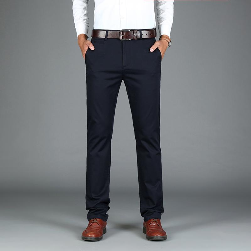 [해외]새로운 공식 웨딩 남자 정장 바지 스트레이트 캐주얼 바지 스트레칭 좋은 품질의 남성 비즈니스 정장 바지 스트레칭/New Formal Wedding Men Suit Pants straight cutting good quality men business suit p