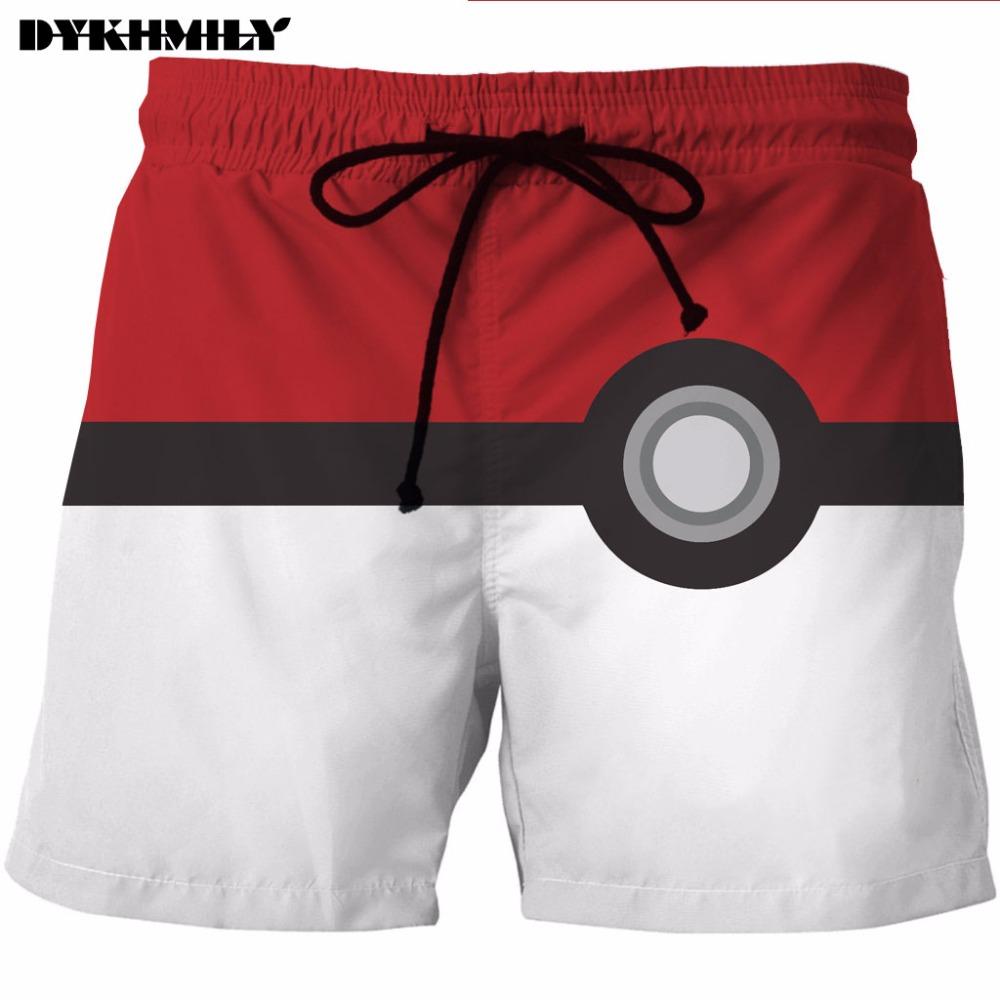 [해외]Dykhmily 패션 남자 & 비치 반바지 3d 인쇄 컬러 애니메이션 남성 비치 반바지 캐주얼 빠른 건조 남자 보드 반바지/Dykhmily  Fashion Men&s Beach Shorts 3d Print Color Anime Mens Beach Shor
