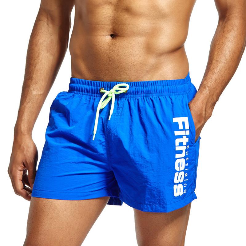 [해외]남성 반바지 여름 해변 반바지 수영복 보드 반바지 남자 복서 짧은 버뮤다 수영복 빠른 건조 메쉬 안감 크기 XXL/Men Shorts Summer Beach shorts Swimwear Men Boardshorts Man Boxer Short Bermuda Sw
