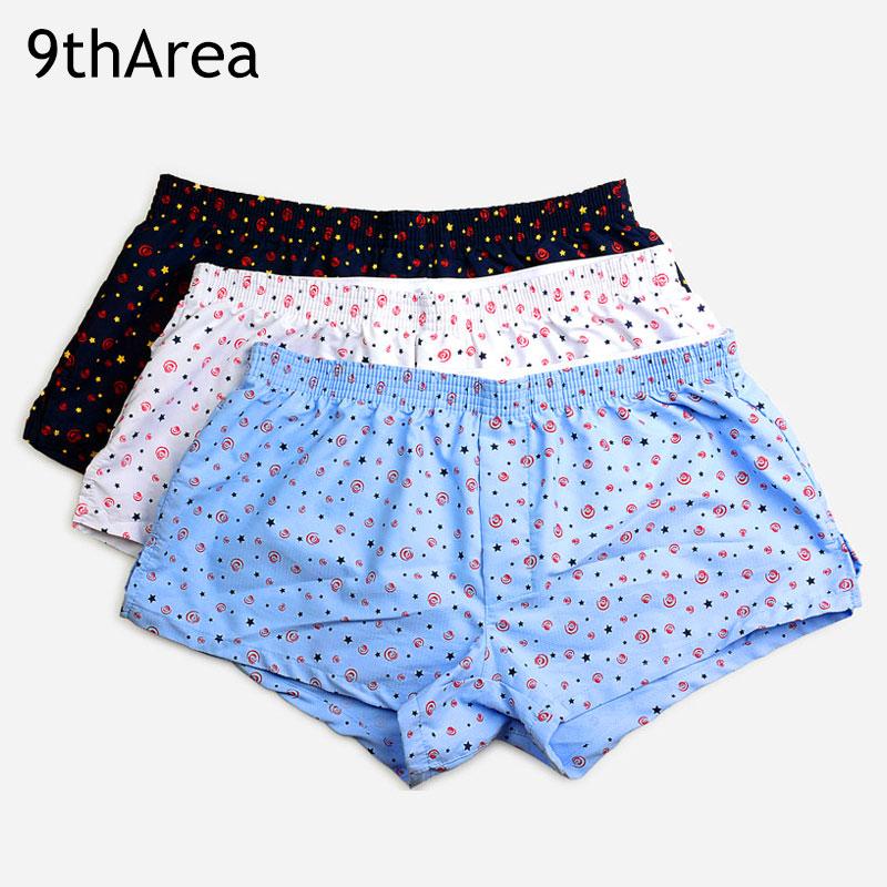 [해외]9thArea 남자 & s 남성 속옷 박서 반바지 3 팩 홈 레저 스타일 코 튼 원단 남자 팬티 cueca 복서 남자 남자 mens/9thArea Men&s male underwear Boxer shorts 3-Pack home Leisure Style