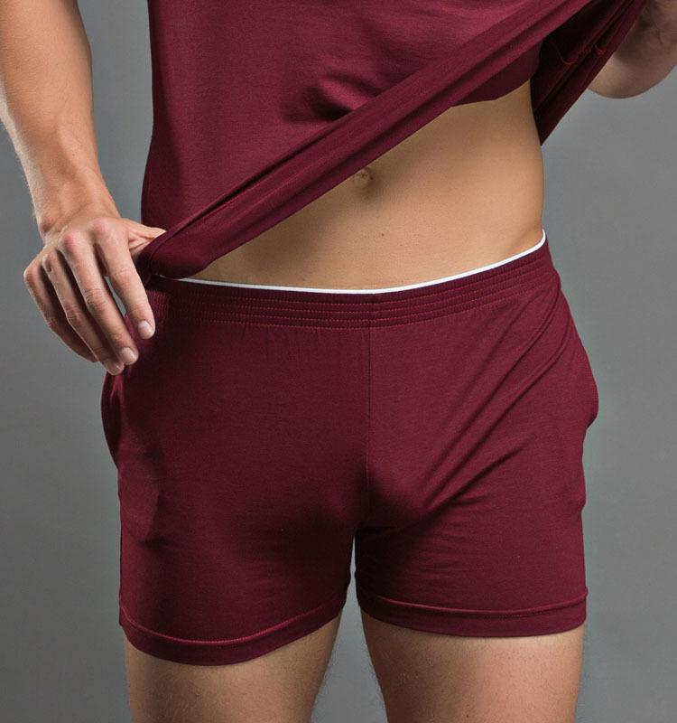 [해외]?2016 남성을새로운 코튼 속옷 솔리드 남성 복서 패션 반바지 홈 속옷 속옷 M L XL/ 2016 New Cotton Underwear For Men Solid Mens Boxers Fashion Shorts  Home Sleepwear Underpants