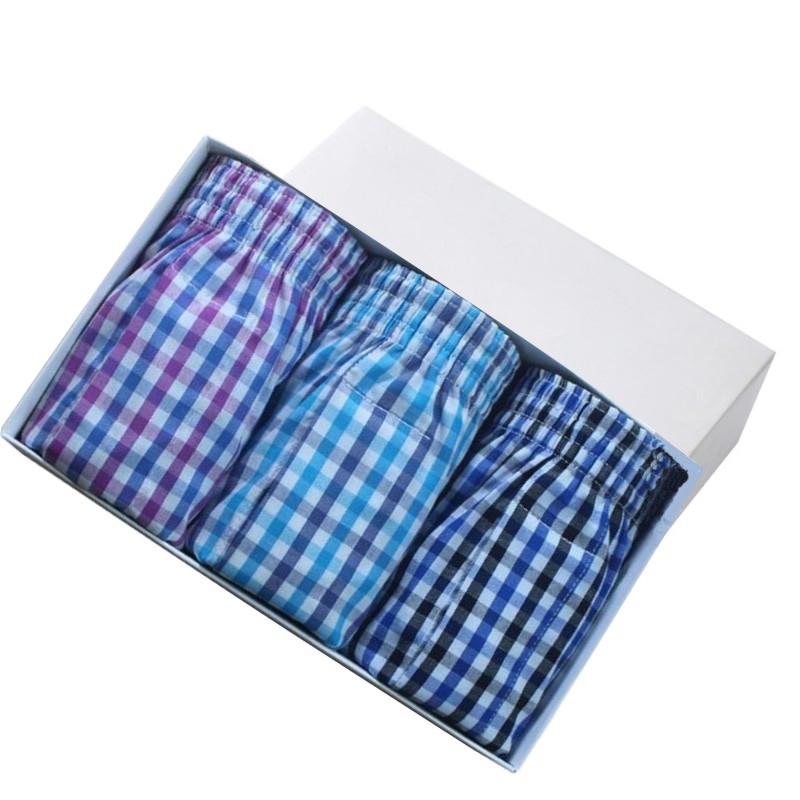 [해외]많은 색상 남성 화살표 바지 캐주얼 패션 브랜드 고품질의 큰 크기 복서 3pcs / lot 망 코튼 사각 팬티 남성용 속옷/Many color men arrow pants casual fashion brand High quality big size boxer 3