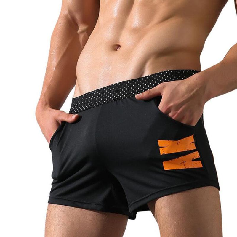 [해외]KWAN.Z 속옷 남성 복서 남성 포켓 권투 선수 반바지 cueca 망 속옷 calzoncillos hombre 남성용 면화 남성 속옷/KWAN.Z underwear men boxer men pocket boxer shorts cueca mens underwea