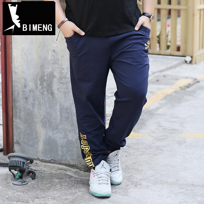 [해외]BIMENG 플러스 크기 3XL 4XL 5XL 90-160KG 남성용 남성용 면직물 남성 면화 바지 조깅 캐주얼 남성 조깅 단색 바지 남성 98/BIMENG Plus Size 3XL 4XL 5XL 90-160KG Men Sweatpants Male Cotton
