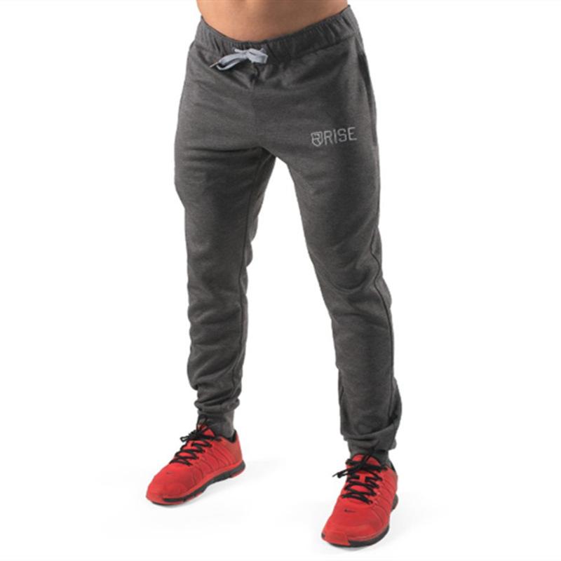 [해외]드롭 배송 남자 전체 운동복 바지 캐주얼 탄성 코튼 망 피트니스 운동 바지 스키니 스웨트 팬츠 조깅 바지/Drop shipping Men full sportswear Pants Casual Elastic cotton Mens Fitness Workout Pant