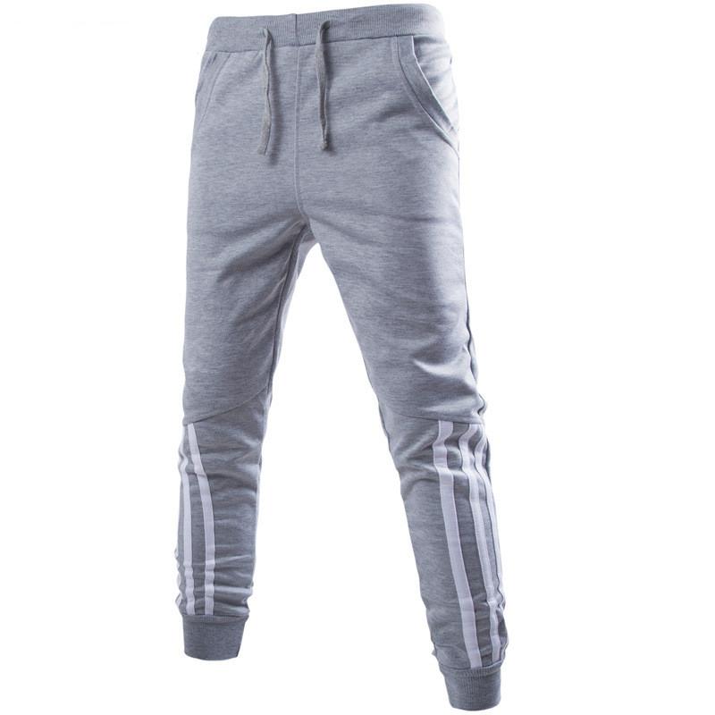 [해외]2017 봄 가을 여름 새로운 패션 의류 망 바지 편안한 느슨한 스웨트 바지 남자 스포츠맨 착용 조깅 바지/2017 Spring Autumn Summer New Fashion clothing Mens Pants Comfortable Loose Sweatpants