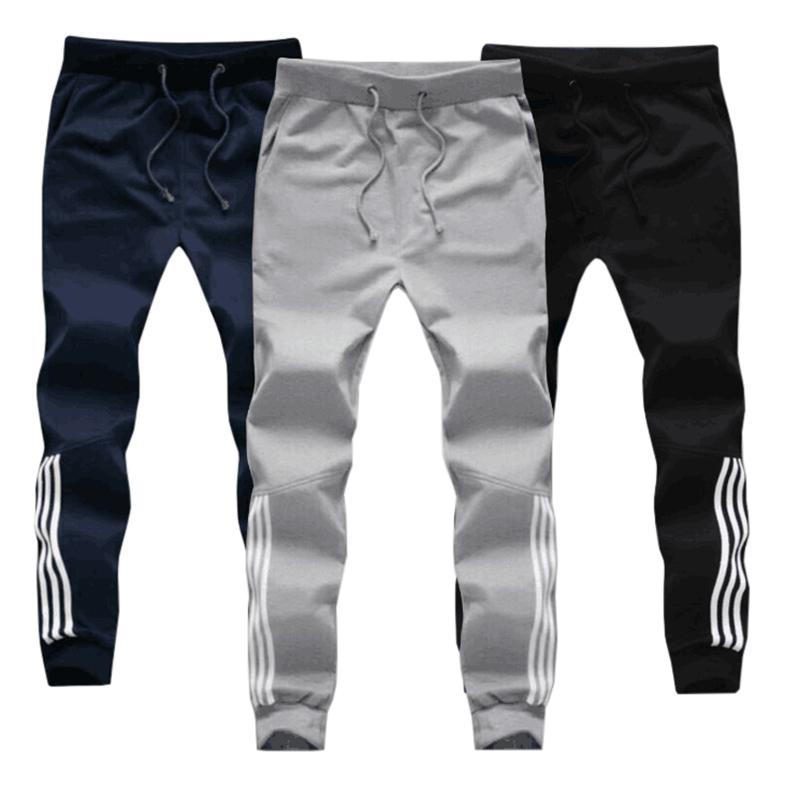 [해외]큰 크기 남자 코 튼 조깅 바지 봄가 남성 캐주얼 탄력성 헐렁한 바지 망 양털 따뜻한 겨울 운동복/Big Size Men Cotton Jogger Pants Spring Autumn Male Casual Elastic Fitness Baggy Trousers M