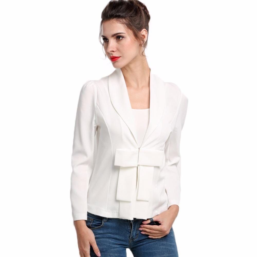 [해외]봄 가을 여성 블레 이져 정장 레이디 자켓 여성 코트 Office OL 균일 블레이 저 화이트 비즈니스 케이프 여성 여성 Outwear 2016/Spring Autumn Women Blazer Suit Lady Jacket Female Coat Office OL