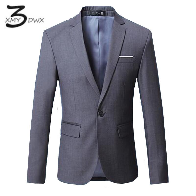[해외]XMY3DWX 패션 남성 & 하이 엔드 코 튼 비즈니스 정장 / 남성 품질 슬림 맞는 레저 자 켓 코트 / 남자 순수한 ??색상 BLAZERS S-6XL/XMY3DWX Fashions men&s high-end cotton business suit/Mal