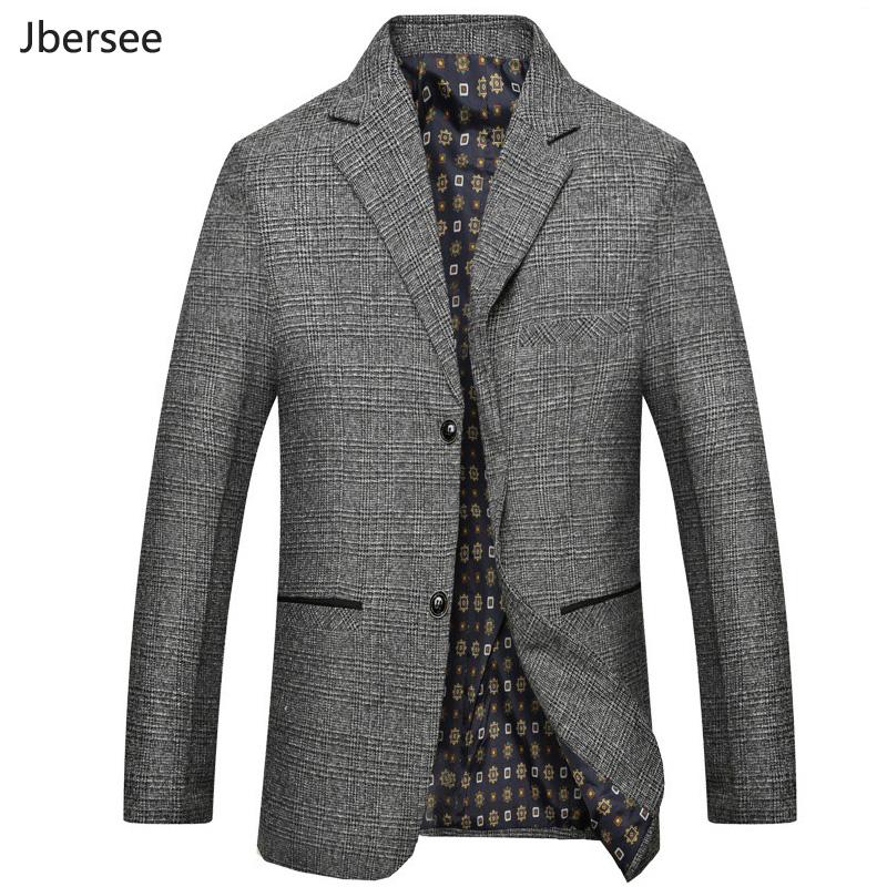 [해외]Jbersee 남자 & s 복장 재킷 봄 가을 유행 캐주얼 비즈니스 정장 재킷 가정 블레 이저 슬림 한 양복 남자 블라우스 Masculino/Jbersee Men&s Dress Jacket Spring Autumn Fashion Casual Busines