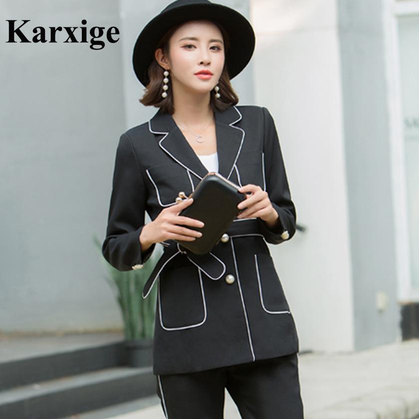 [해외]2017 뉴 슬림 재킷 모든 경기 한국어 허리띠 밴드 우아한 레저 사무실 레이디 정장 재킷 전용/2017 New Slim Jacket All Match Korean Waistline Band Belt Elegant Leisure Office Lady Suit j