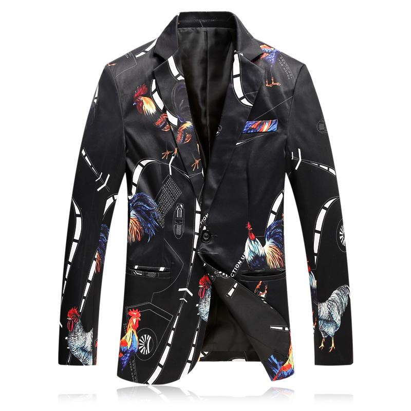 [해외]2018 남자 & 캐주얼 슬림 피트 원 버튼 정장 재킷 블레 이저 코트 웨딩 드레스 정장 무도회 복장 남자 드레스 M-4XL 879/2018 Men&s Casual Slim Fit One Button Suit Jackets Blazer Coat Weddi