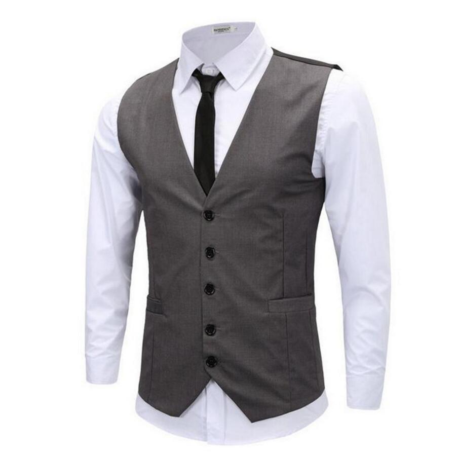 [해외]2017 톱 패션 남자 조끼 새로운 정장 스타일 슬림 사용자 정의 남자 & s 양복 조끼 캐주얼 적합 남자 정장 조끼에 대 한/2017 Top Fashion Men Vests New Fashion Style Slim Custom  Men&s Waistco