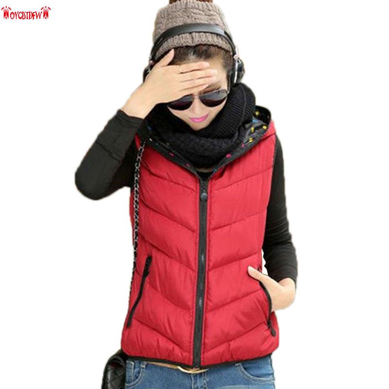 [해외]여자 큰 조끼 2017 패션 한국어 가을 겨울 새로운 레저 솔리드 컬러 짧은 섹션 후드 조끼 코트 Xx010/Women Large Size Vest 2017 Fashion Korean Autumn Winter New Leisure Solid Color Short