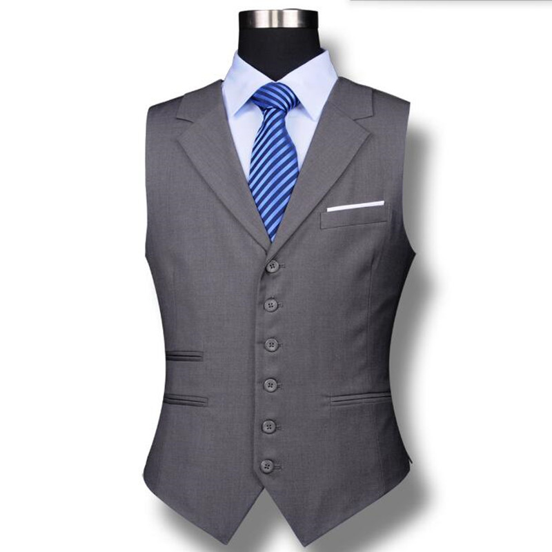 [해외]최신 남성 정장 조끼 좋은 품질 신랑 결혼식 조끼 오트 양재 신랑 들러리 파티 파티 비즈니스 레저 드레스 조끼/Latest men suits vest good quality groom wedding vest haute couture groomsman prom p