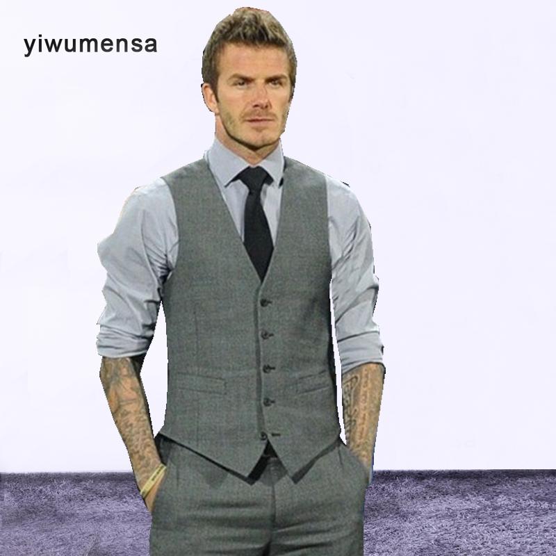 [해외]yiwumensa 다섯 버튼 양복 조끼 사용자 정의 깊은 짙은 네이비 다시 웨딩 / 댄스 파티 양복 조끼 chalecos para hombre Mens Vest/yiwumensa five buttons waistcoat Custom made Deep GrayNa