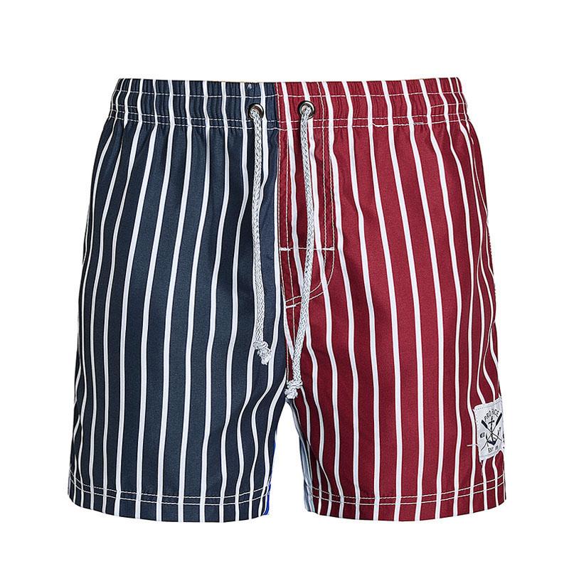 [해외]브랜드 남성 여성 비치 반바지 빈티지 패치 워크 보드 반바지 빠른 건조 남성 수영복 수영복 버뮤다 스트라이프 캐주얼 반바지/Brand Men women Beach Shorts Vintage Patchwork Board Shorts Quick Drying Men