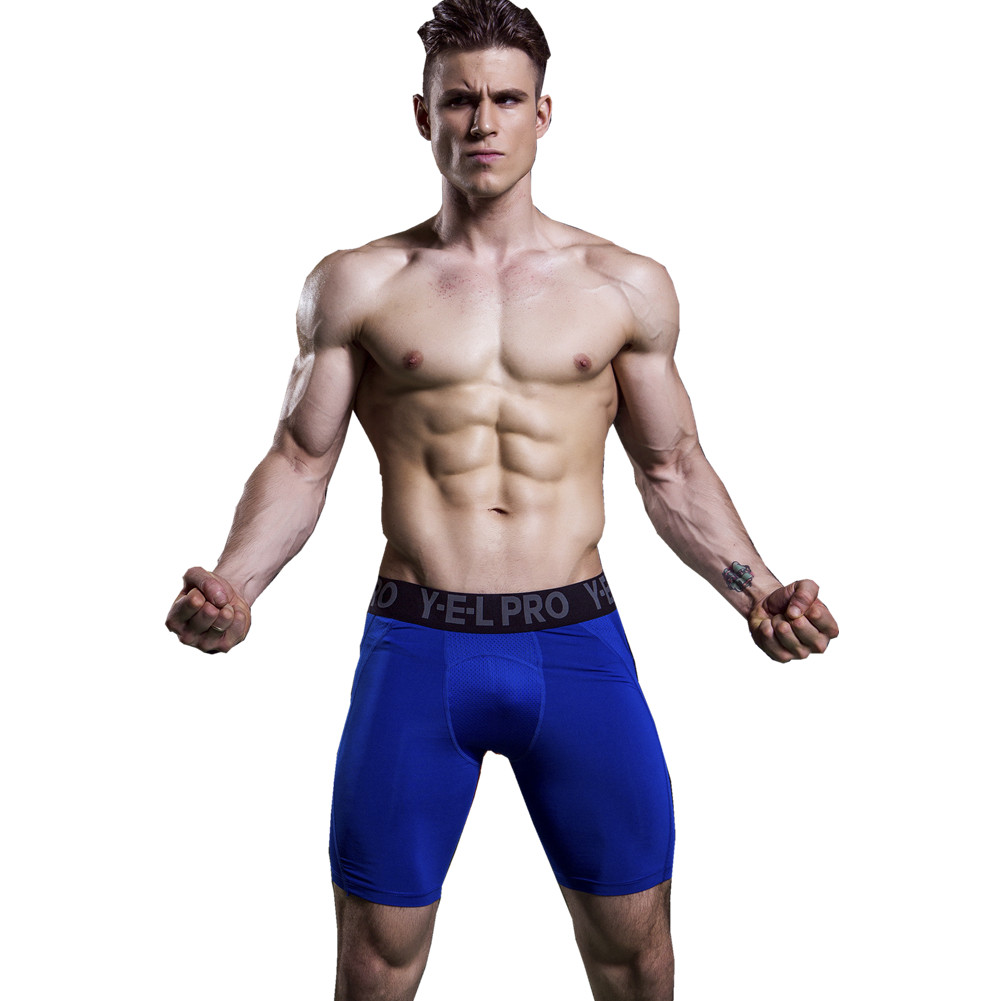 [해외]1045 PRO 남자 조깅 수영복 보디 빌딩 피트니스 압축베이스 레이어 열 타이츠 스키니 반바지 플러스 사이즈 S-XXL/1045 PRO Men Joggers Swimwear Bodybuilding Fitness Compression Base Layer Ther
